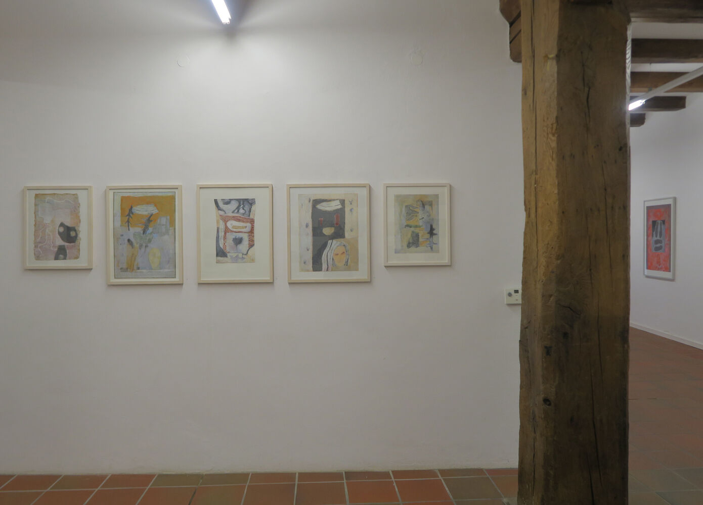 Exhibition view, Brigitte Heintze