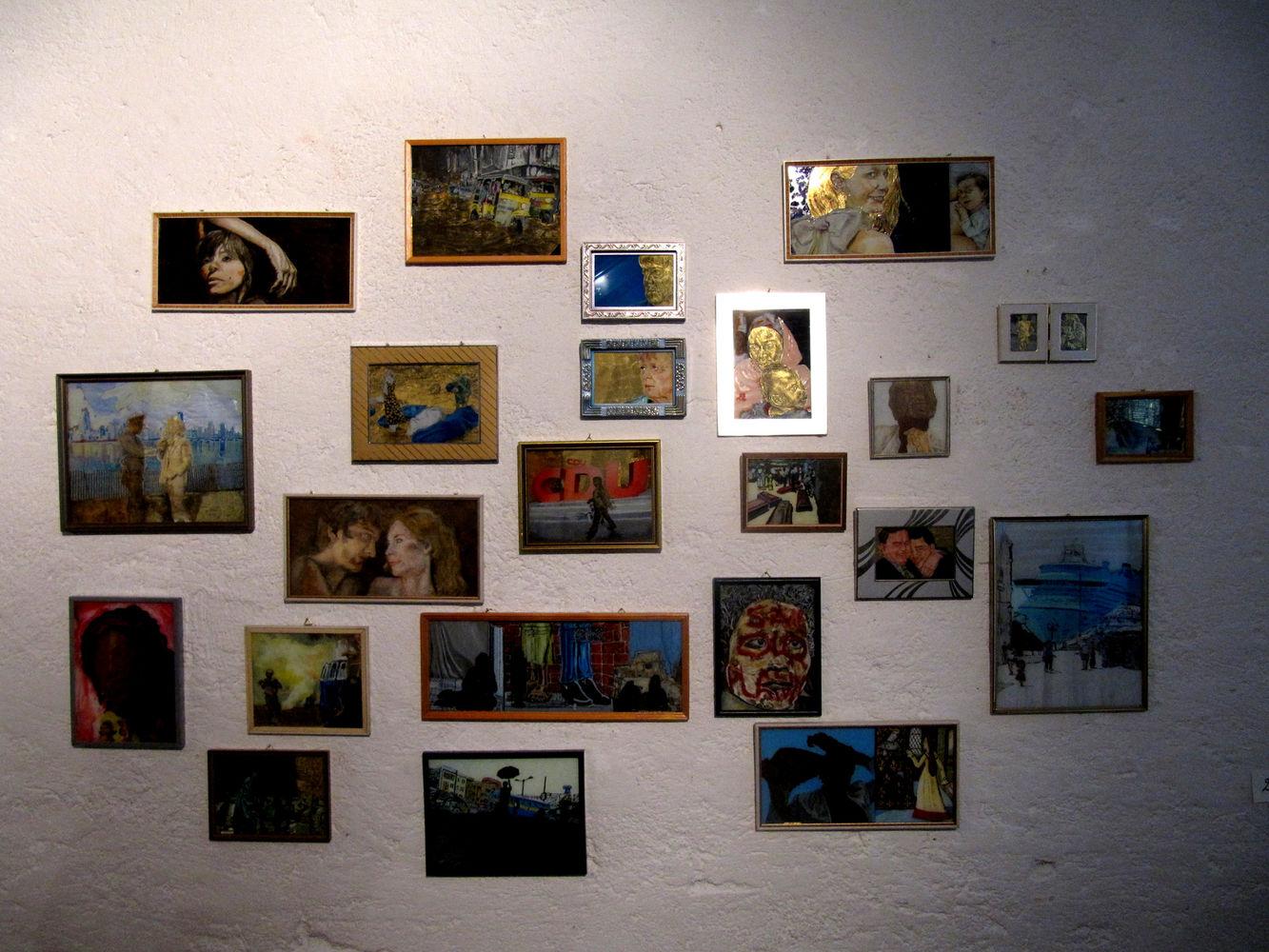 Ausstellungsansicht Kathrina Rudolph Galerie Arja Decker