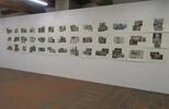 Ausstellungsansicht Kathrina Rudolph Collagen 1-39