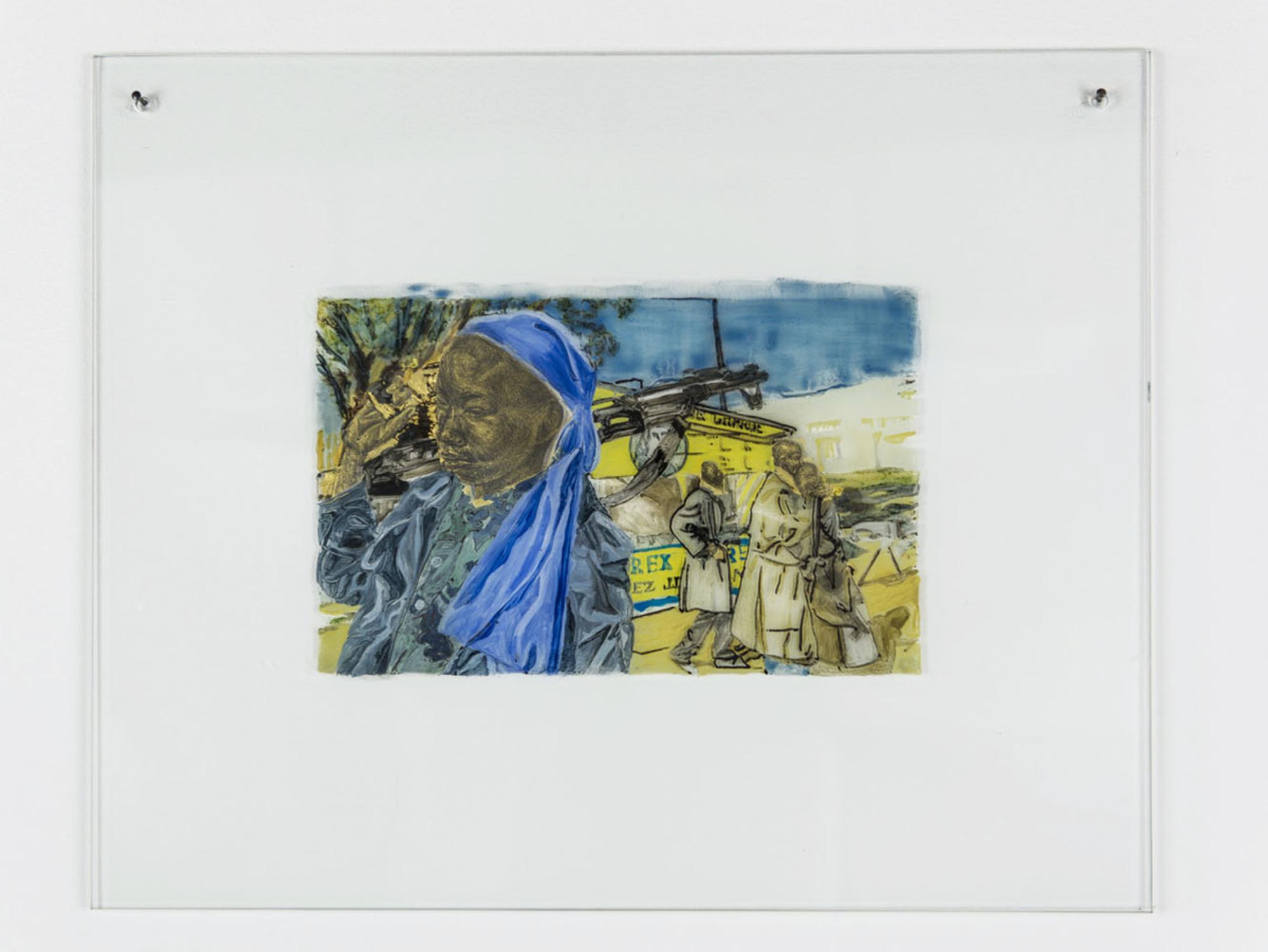 Kathrina Rudolph Hinterglasmalerei Afrika 2