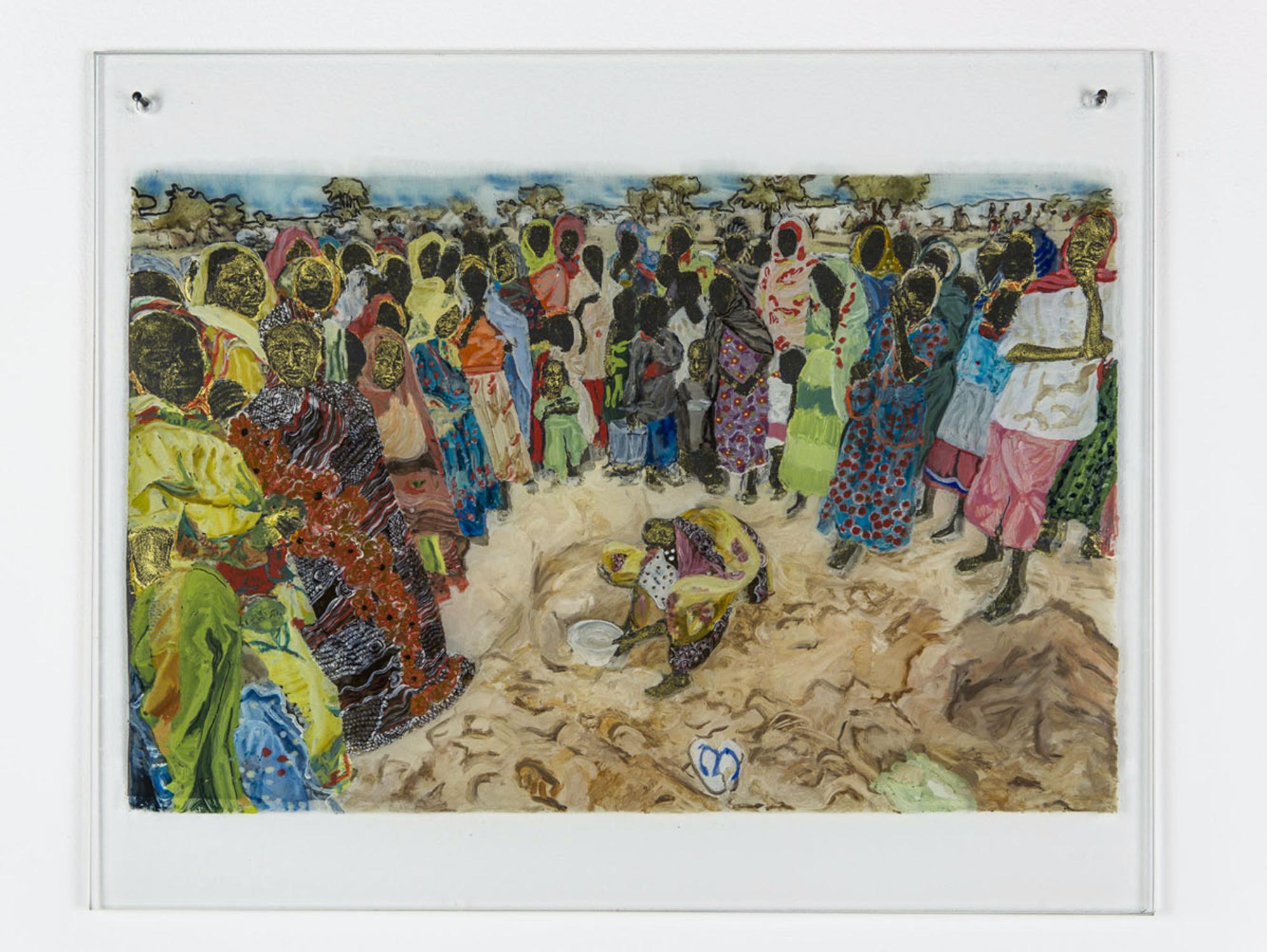 Kathrina Rudolph Hinterglasmalerei Afrika 714