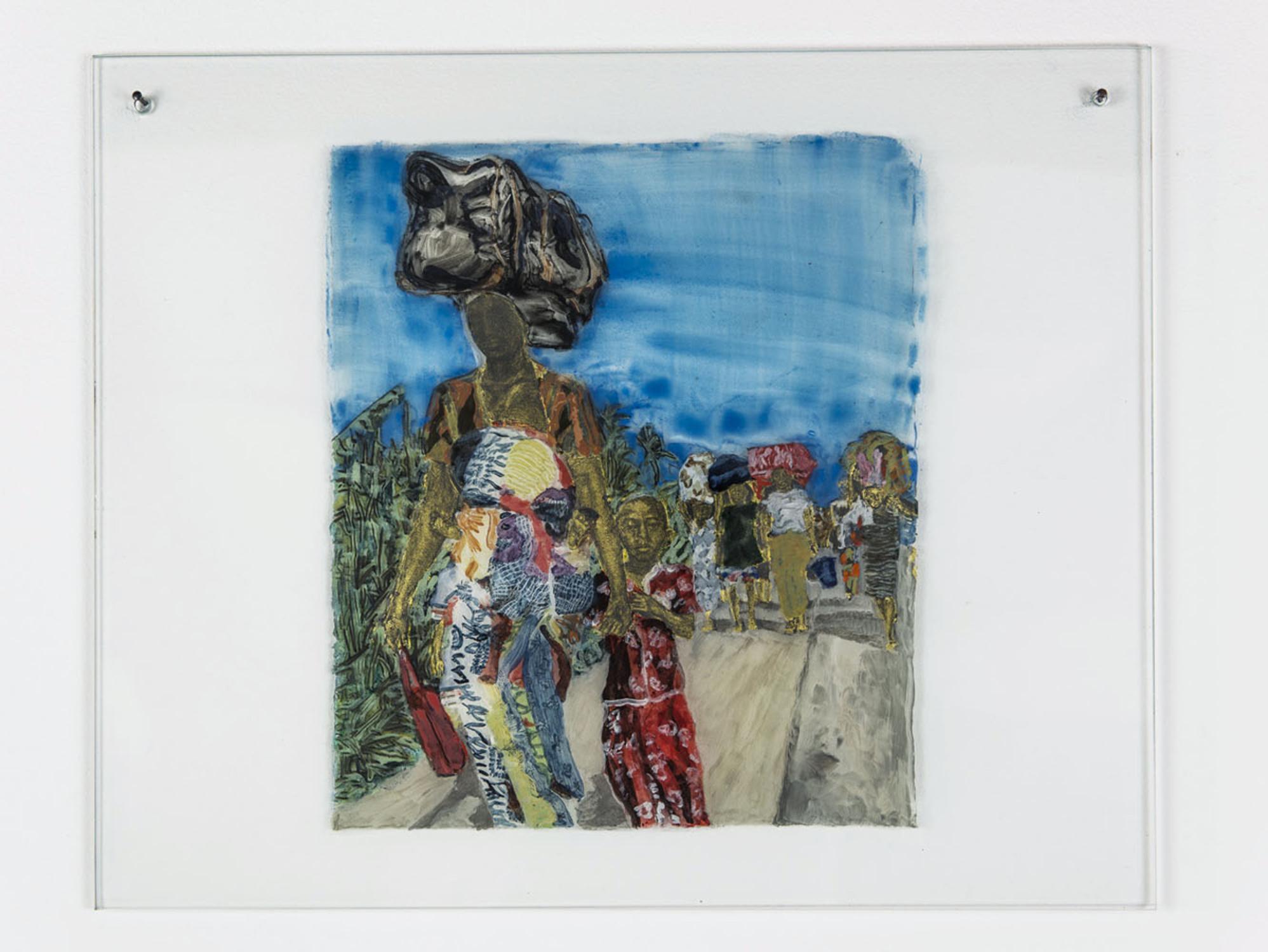 Kathrina Rudolph Hinterglasmalerei Afrika 720