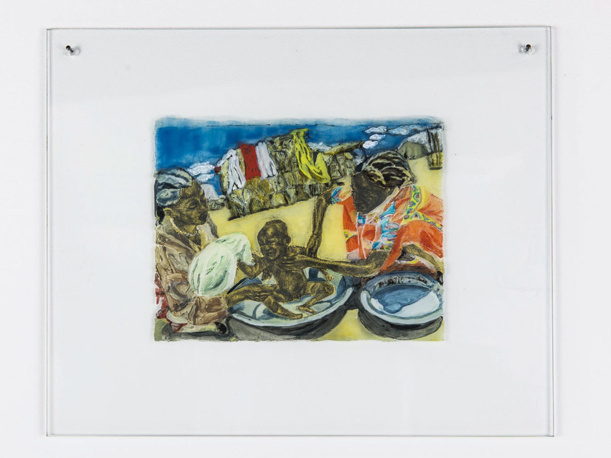Kathrina Rudolph Hinterglasmalerei Afrika 724