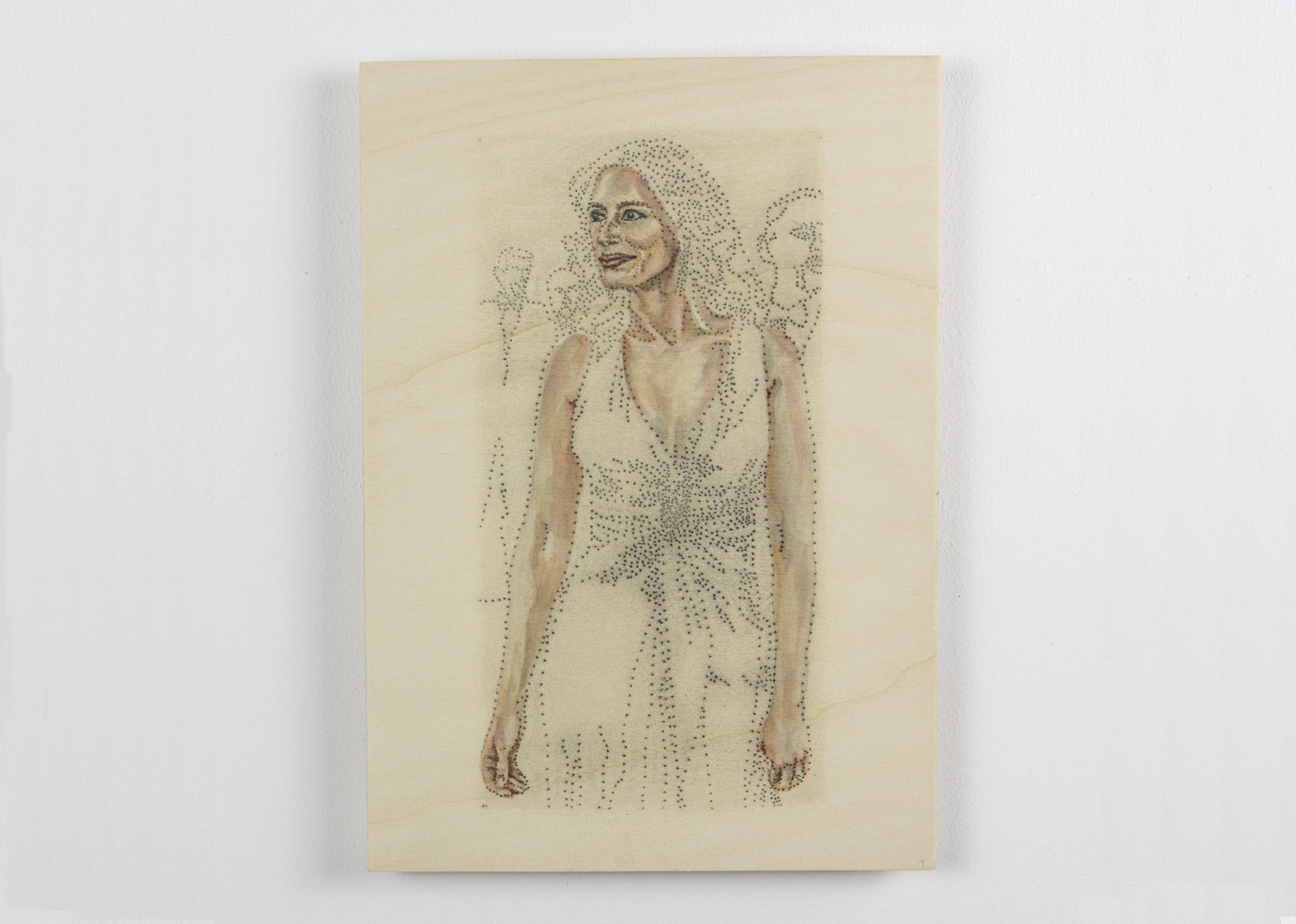 Julia Roberts Portrait Painting
