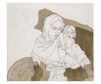 Kathrina Rudolph Malerei Kreidegrund Afghanistan 2
