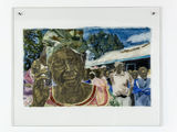 Kathrina Rudolph Hinterglasmalerei Afrika 717