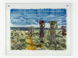 Kathrina Rudolph Hinterglasmalerei Afrika 719