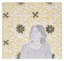Kathrina Rudolph painting white stuff portraits 1