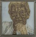 Rita Süssmuth Portraitmalerei Hinterglas